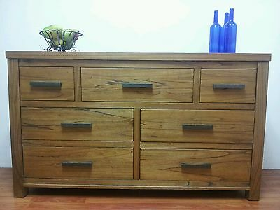 Fabulous NEW timber Dresser (chest of drawers low tallboy) TV unit?