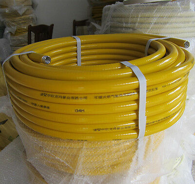 OD 15.8MM SS304 Stainless Steel Corrugated Tubing Flexible Gas Pipe Per Foot