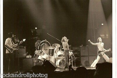 THE WHO LIVE: Orig. Photos 76 & '80  San Diego Arena