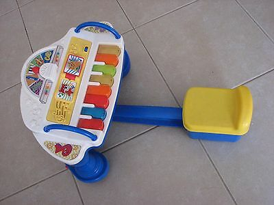 ** FISHER PRICE SYMPHONY ROCK N PLAY PIANO Lights & Music**