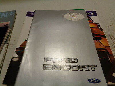Catalogue Publicitaire Ford Escort Et Supplement Xr3 By Ford