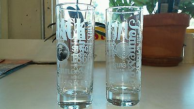 NEW - 2 JACK DANIEL'S OLD NO.7 TENNESSEE WHISKEY Highball Glasses -Free Shipping