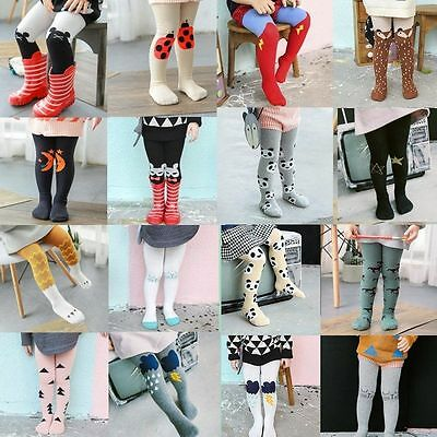 Baby Kids Girls Lovely Cotton Tights Stockings Pants Hosiery Pantyhose