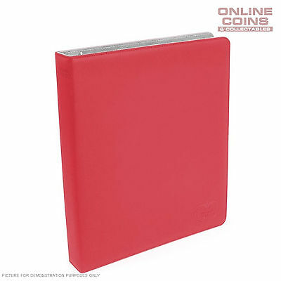 Ultimate Guard SUPREME COLLECTOR'S ALBUM SLIM XENOSKIN - RED + 20 PAGES