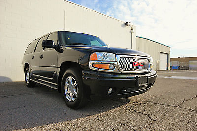 2001 GMC Yukon 4X4-EXTRA CLEAN-LOW MILES-FULLY LOADED-NO RESERVE 2001 GMC YUKON DENALI XL-4X4-EXTRA CLEAN-LOW MILES-FULLY LOADED-NO RESERVE