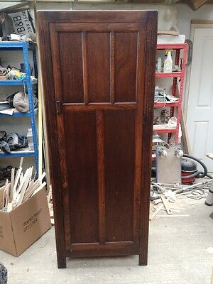 Small wooden cupboard-wardrobe