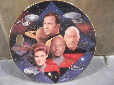 Star Trek 30 Years (Captain's Tribute) The Hamilton Collection