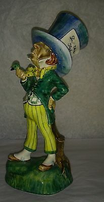 Rare Disney Alice in Wonderland  Gort Mad Hatter early high grade figure nIce