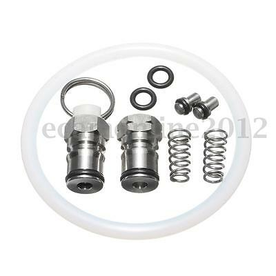 10Pcs Keg Seal Kit With Poppet Pressure Release Valve For Home Brew Beer Bucket