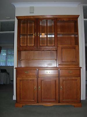 Younger Jamestown cherry wood wall unit