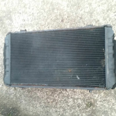 TOYOTA MR2 MK1 mark 1 radiator and cooling fans coolant rad