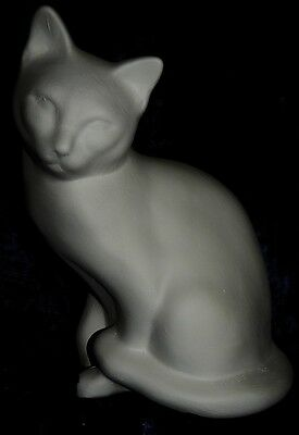 Ceramic Bisque Ready to Paint Sitting Cat