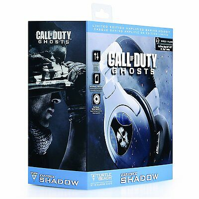 Turtle Beach Ear Forza SHADOW Call of Duty Ghosts compatibile con PS3 PS4