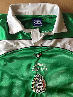 Mexico Football Jersey Atletica Size S