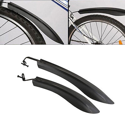 Cycling Mountain Bicycle Bike Road Front Rear Mud Guards Mudguard Fenders Set