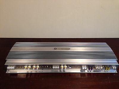 Rare Dls Untimate A7 5 Channel 4Ch Car Audio Amplifier Speakers