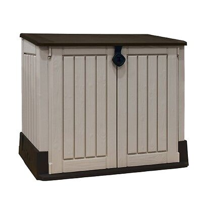 Keter Plastic Shed Midi Store It Out Storage Garden Lockable FAST FREE DELIVERY