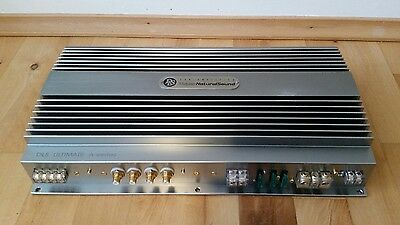 Rare Dls Untimate A5 3 Channel Big 3 Ch Car Audio Amplifier Speakers
