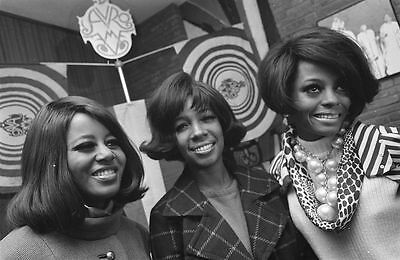 Diana Ross & The Supremes Motown Group 1968 Glossy Photo Music Print Poster A4