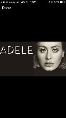 Adele Brisbane March 4th - Price Is for 2 X Tickets