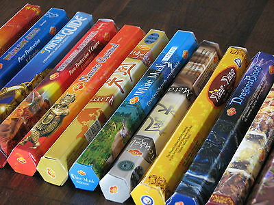 5 x Packets - Incense Sticks 100 Sticks in Total - Mixed Scents
