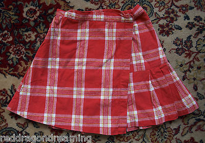 Room Seven girl's wrap around hand made skirt SIZE 116 (UK age 6 years) *LOVELY*