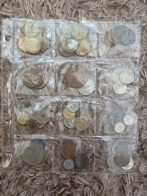 Old English And Foreign Coins