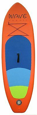 """Wave Hawaii Inflatable Stand Up Paddle-Board 7'4"""" Kids ISUP 7'4"""" inkl. Pumpe"""