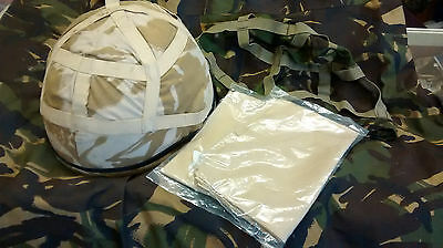British Army Helmet with Spare DPM Cover (Size LG)