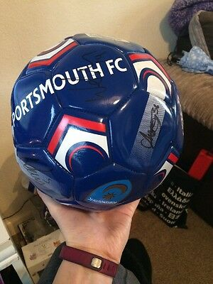 Portsmouth FC Signed football