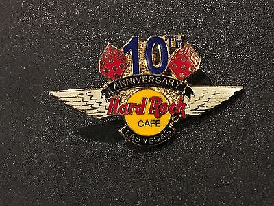 Hard Rock Cafe Pin Limited 2,000 11th Anniversary Las Vegas Hrc Gift Creation