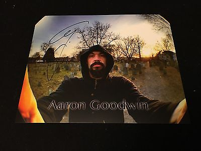 Ghost Adventures Aaron Goodwin Autograph 8x10 Travel channel Auto