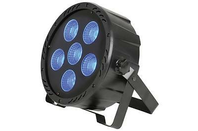 Qtx 154.036 7 200W DMX Control PAR64 High Power 3 in 1 COB LED Plastic PAR Can