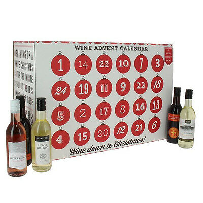 Wine Advent Calendar - 24 x 187ml bottles