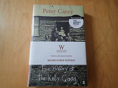 *Signed* 1st Edition~PETER CAREY True History of the Kelly Gang~sealed HB