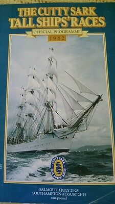 The Cutty Sark Tall Ship's Races - 1982 Official Programme.