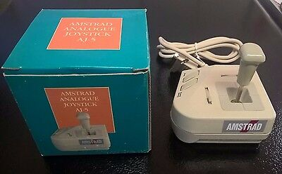 Vintage Amstrad Analogue Joystick AJ-5 with Original Box - Brand New