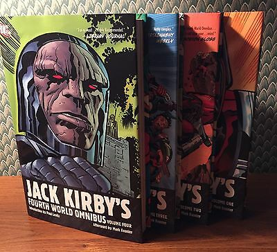 Kirby Fourth World Dc Omnibus 1-4 Nm Signed By Neal Adams Plastino Royer & More
