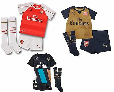 Puma Arsenal Children's Full Kit Mini kit 201516 Choose Home, Away, 3rd kit kids