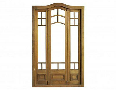 Antique Eyebrow Triple French Door #C1518