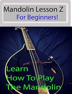 Mandolin Lesson Z DVD For Beginners! How To Play The Mandolin