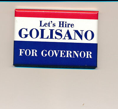 New York NY Golisano for governor campaign button