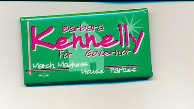Barbara Kennelly for governor Connecticut CT campaign button