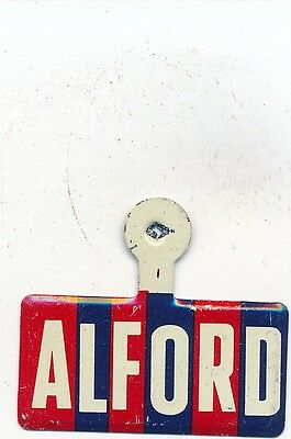 1962 Dale Alford for governor Arkansas AR campaign tab