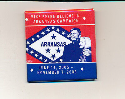 2006 Mike Beebe Arkansas governor campaign button AR