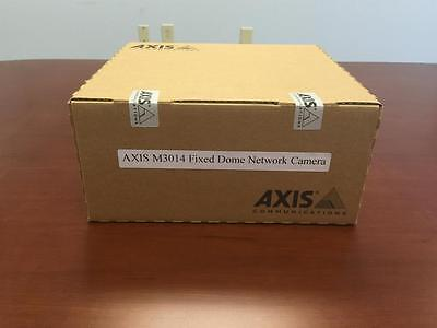 New Axis M3014 Fixed Dome Network Security Camera 0285-001