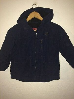 Urban Diversion Boys Padded Jacket Age 5 Years Navy  R5460