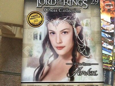 lord of the rings chess collection 29 - White queen - Arwen