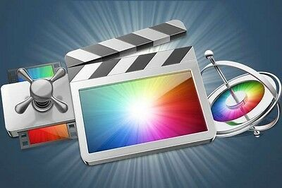 Final Cut Pro x 10.3 + Compressor & Motion + includes Training Video