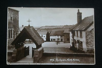 North Molton, Devon, RP Postcard